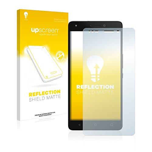 upscreen Entspiegelungs-Schutzfolie kompatibel mit BQ Aquaris M5.5 – Anti-Reflex Bildschirmschutz-Folie Matt