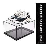 Boîte Acrylique Transparent Rangement pour Les Chaussures AJ Vitrine Box Cube Organisateur...