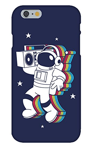 iPhone 8/8s Case - Rockin Space Man Astronaut w/Boombox Colorful