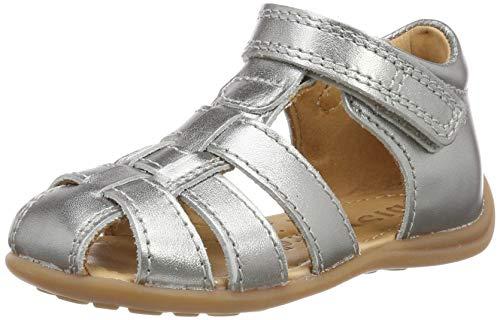 Bisgaard Jungen Mädchen 71206.119 Sandalen, Silber (Silver 7008), 22 EU