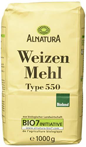 Alnatura Bio Mehl Weizen Typ 550, 1.00 kg