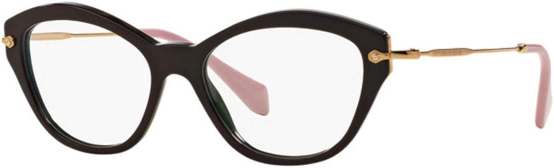 Eyeglasses Miu Miu MU 2OV DHO1O1 BROWN
