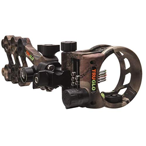 TRUGLO HYPER-STRIKE Ultra-Light Long Range Bow Sight, DDP...