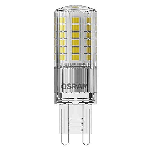 OSRAM Capsula Lampadina LED, 4.8 W Equivalenti 48 W, Attacco G9, Luce Calda 2700K, Confezione da 1 Pezzo