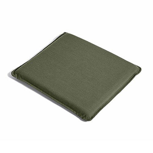 HAY Palissade Sitzkissen 37x37cm, olivgrün wasserabweisend für Palissade Stuhl & Armlehnstuhl
