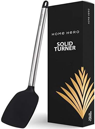 Silicone Spatula Turner Silicone Turner Spatula Flexible Silicone Spatulas for Nonstick Cookware product image