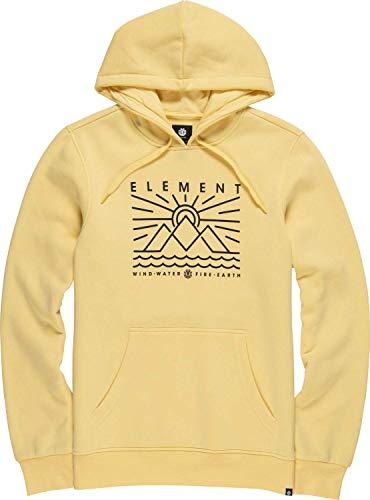 Element Oddie Ho Sweatshirt, Hombre, Popcorn, L