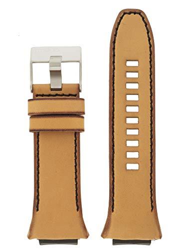 Diesel LB-DZ1883 - Correa de repuesto para reloj (piel, 20 mm), color marrón