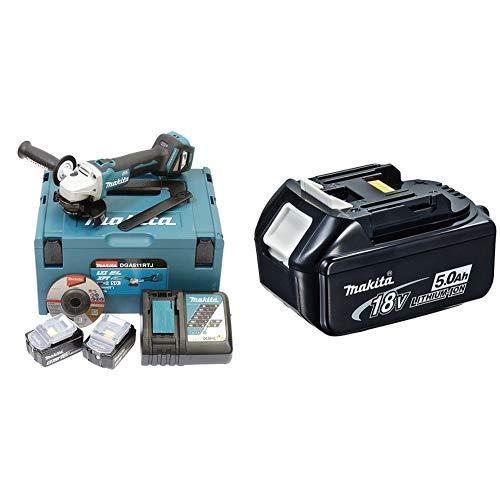 Makita dga511rtj batería + Makita 4434175 - Acumulador 18 v