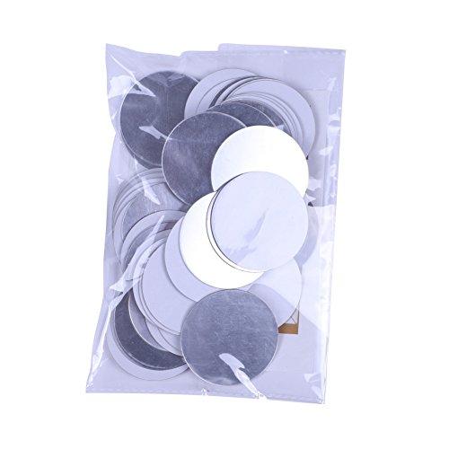 Wingbind Rond Miroir Wall Sticker Argent Or Couleur pour Salon Chambre Nursery Chambre Décoration-50 pcs