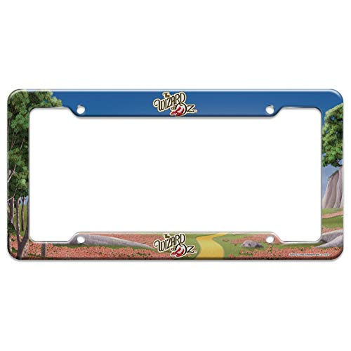 Graphics and More The Wizard of Oz Ruby Slippers Logo License Plate Clear Frame