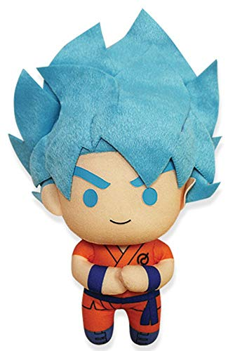Dragon Ball Super Peluche Super Saiyan Azul Goku 13cm