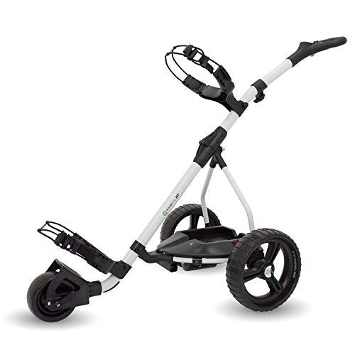 PowerBug GT Elektrischer Golftrolley, ohne Akku oder Ladegerät, Weiß