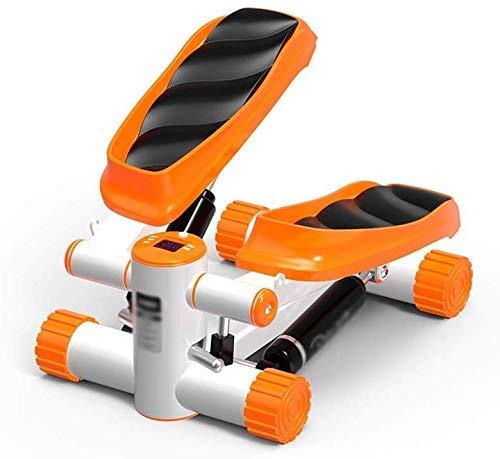 AOLI Hydraulische Stepper, Home Mini Aerobic Stepper Fitnessger Auml; Te F Uuml; R Das B Uuml; Ro Im Wohnzimmer,naranja