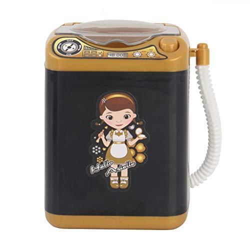 Dinglong Brosse De Maquillage Dispositif De Nettoyage Automatique Nettoyage Machine à Laver Sécheuse Mini Jouet Noir Fille