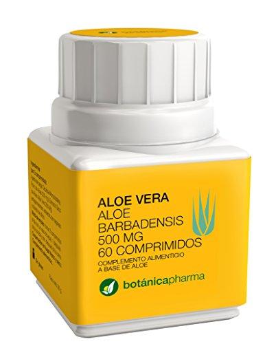 Aloe vera Botanica Pharma 500 mg 60 comprimidos