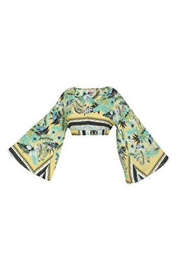 IZIA Bluse Damen 19007487 Tropical Print, S