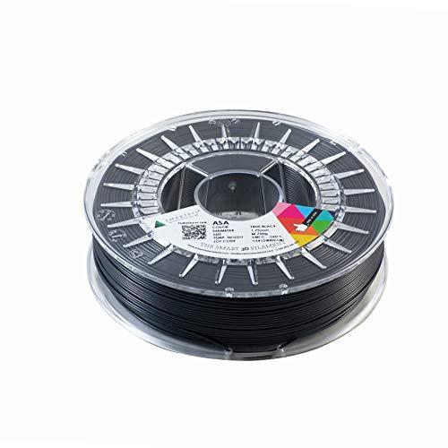 SMARTFIL ASA, 1,75 mm, TRUE BLACK, 750 g Filamento per stampa 3D di Smart Materials 3D