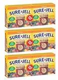Sure-Jell Original Premium Fruit Pectin 2 - 1.75 oz Boxes (Pack of 6)