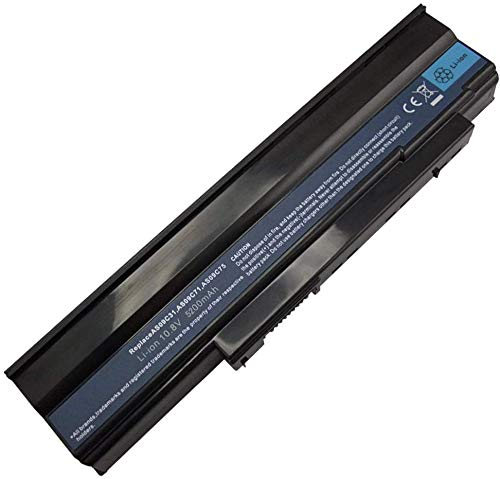 onlyguo 10.8V 5200mAh AS09C31 AS09C75 Laptop Battery Replacement for Acer Extensa 5235 5635 5635Z 5635G 5635ZG
