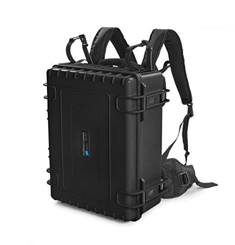 B & W Outdoor Cases Tipo 6000(Negro) con Compartimentos Variable con Mochila portabebés Sistema–El Original