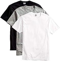 Kit 3 Camisetas Masculinas Básicas Algodão Premium