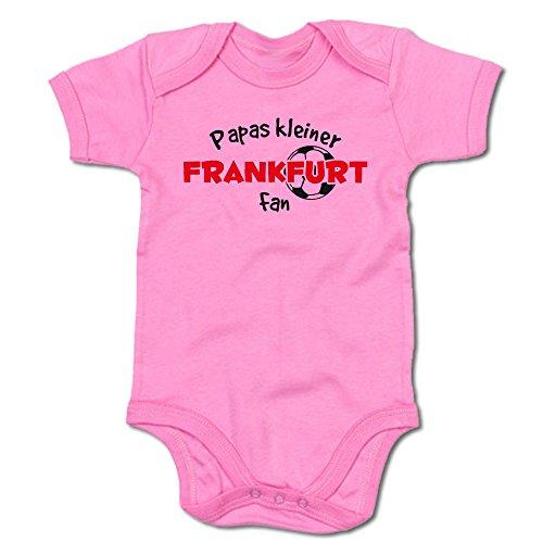 G-graphics Papas Kleiner Frankfurt Fan Baby-Body (250.0240) (0-3 Monate, pink)