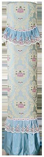 BANGSUN 1 cubierta vertical para el aire acondicionado del gabinete del polvo del dormitorio, sala de estar, color azul