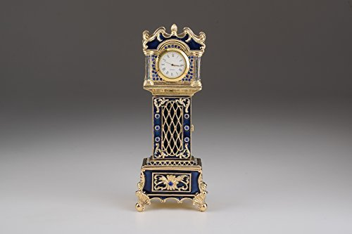Big Ben Uhr Fabergé gestylt Schmuckkästchen