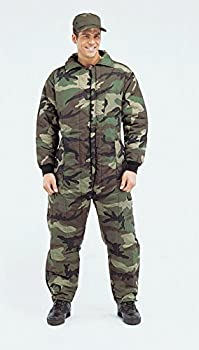 Rothco Insulated Coverall Woodland Camo X-Large