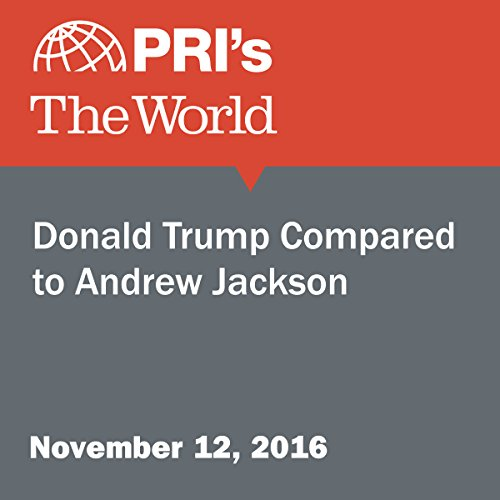 Donald Trump Compared to Andrew Jackson audiobook cover art