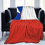 Artículo Nuevo Chile Wine Insiders Guide Manta de franela mullida cómoda cálida ligera manta suave sofá sofá dormitorio manta
