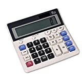 HYBUKDP Office Electronics Calculators Standard Function Electronics Calculator 12 Digit Calculators Large Display Handheld for Daily Basic Office Calculators Basic (Color : A)