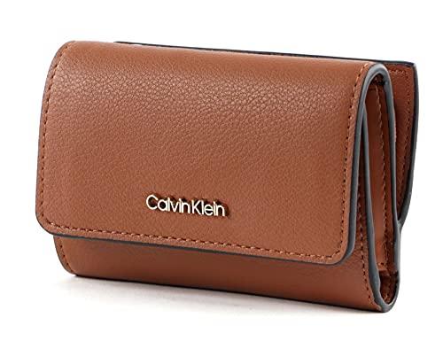 Calvin Klein Women's Sportswear Accessory-Travel Wallet, Brown, One Siz