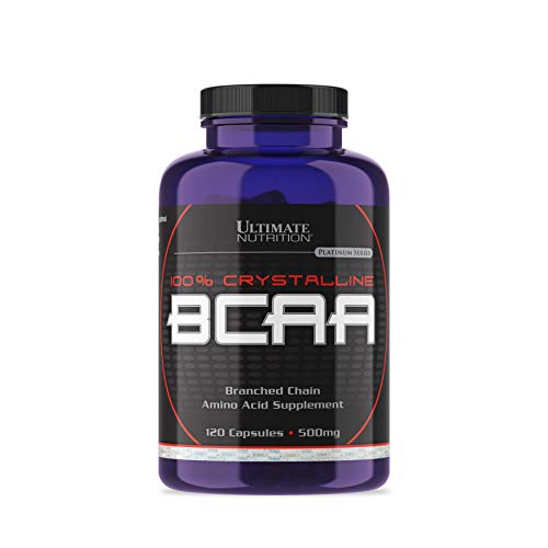 Ultimate Nutrition BCAA (120Caps) Standard, 120 Capsules