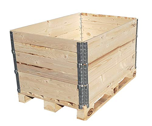 Holzaufsatzrahmen IPPC mit 4 Scharnieren 120x80x20cm