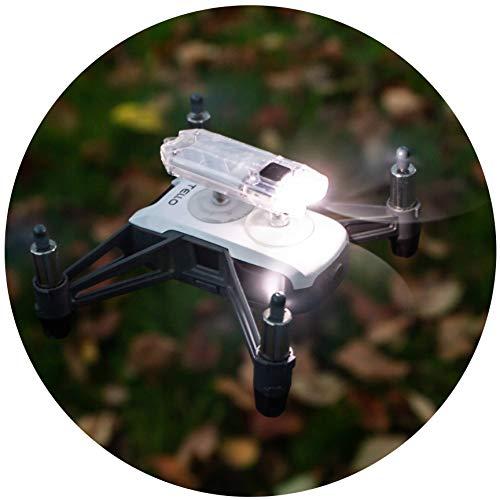Roboterwerk Scheinwerfer: O-Tello (für DJI Ryze Tello) - LED Licht Drohnen Nachtflug Zubehör