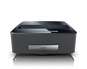 Philips HDP1590/F7 Screeneo Smart LED Home Theater Ultra Short Throw Wireless Projector (Black) image