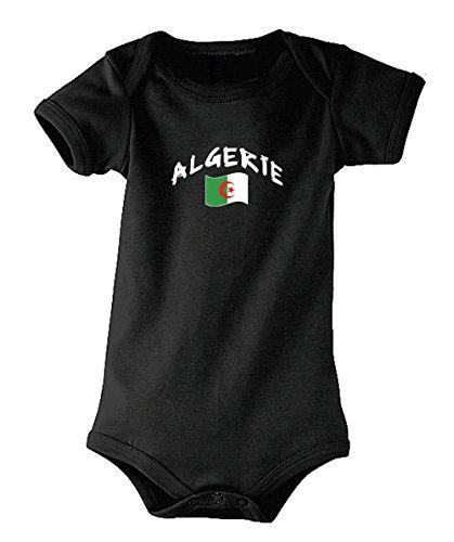 Supportershop Algerien Trikot Kinder S Schwarz