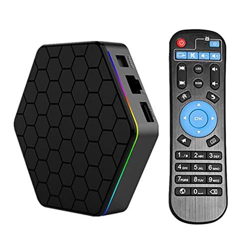 SSRSHDZW Android 6.0 OS TV Caja Plus AMLOGIC S912 3GB + 32GB Caja de Ajuste Inteligente de 32GB Full HD 4K 3D WiFi 2.4G / 5G Reproductor de Medios inalámbrico QCTA Core Android Smart Box BT4.0