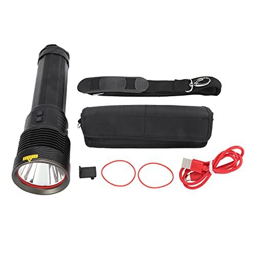 Linterna de caza, linterna LED 4800lm-5000lm para senderismo para emergencias para acampar al aire libre