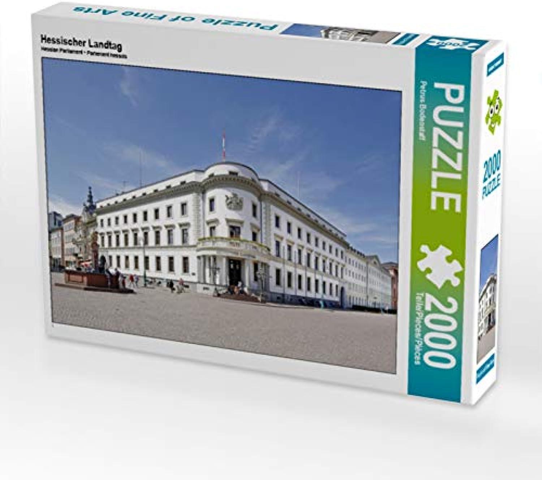 CALVENDO Puzzle Hessischer Landtag 2000 Teile Lege-Größe 90 x 67 cm Foto-Puzzle Bild von Petrus Bodenstaff B07JN6734D Bekannt für seine hervorragende Qualität | Sale Deutschland