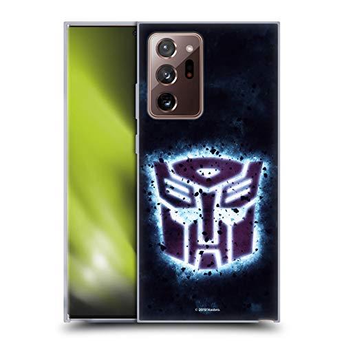 Schutzhülle für Samsung Galaxy Note 20 Ultra / 5G, Motiv Transformers Glowing Spark Autobots Logo
