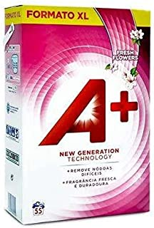 Ariel A + proszek do prania świeżych kwiatów, 3,3 kg, 55 prań