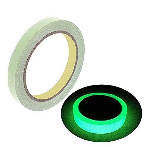 Clickforsign GIDT-1INCH-2FT(2)_FBA Glow In the Dark Night Glow Vinyl Self Adhesive (1 x Inch) Tape