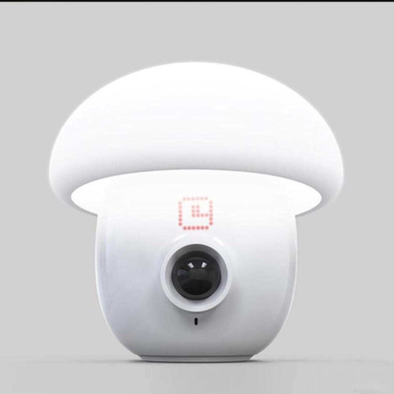 PLZY Schlafzimmer Nachtlicht Kreatives Geschenk Intelligentes Design Menschlicher Krper Sensor Pilzform Wecker 17  17cm