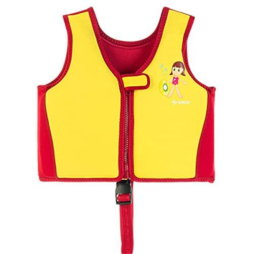 Magnifier Chalecos Salvavidas para niños y niñas Chalecos de natación Chaleco de flotabilidad de Seguridad en el Agua para esnórquel y Rafting,Style 5,M