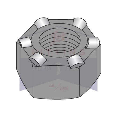 5/16-18 Hex Weld Nuts   6 Projections   with High, Self-Locating Pilot   Steel   Plain Finish   Nuts can be fed Automatically or manually (Quantity: 1000)