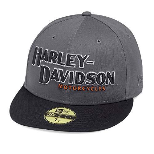 HARLEY-DAVIDSON® Men's Iron Block 59FIFTYCap - 99470-19VM