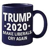 Donald Trump コーヒーマグ Make Liberals Cry Again 2020 Campaign Trump Cup マグ 11 Oz. ブルー G0ahrtgWWwP0Ww9ll6F